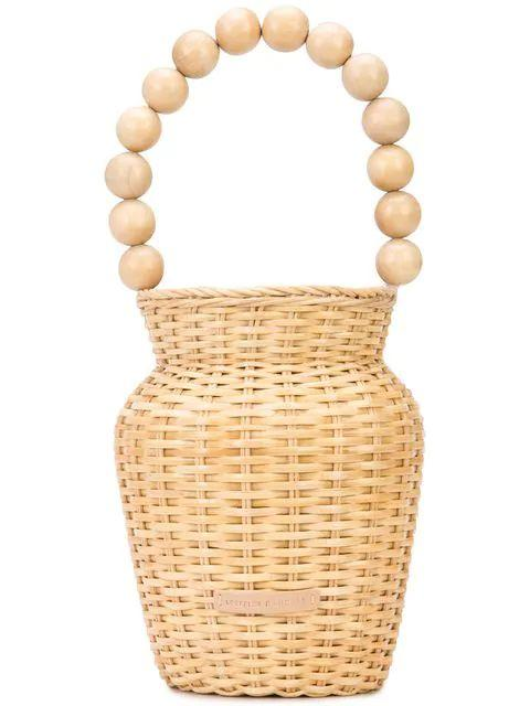 Wicker Tote Item # LOUISE-WF