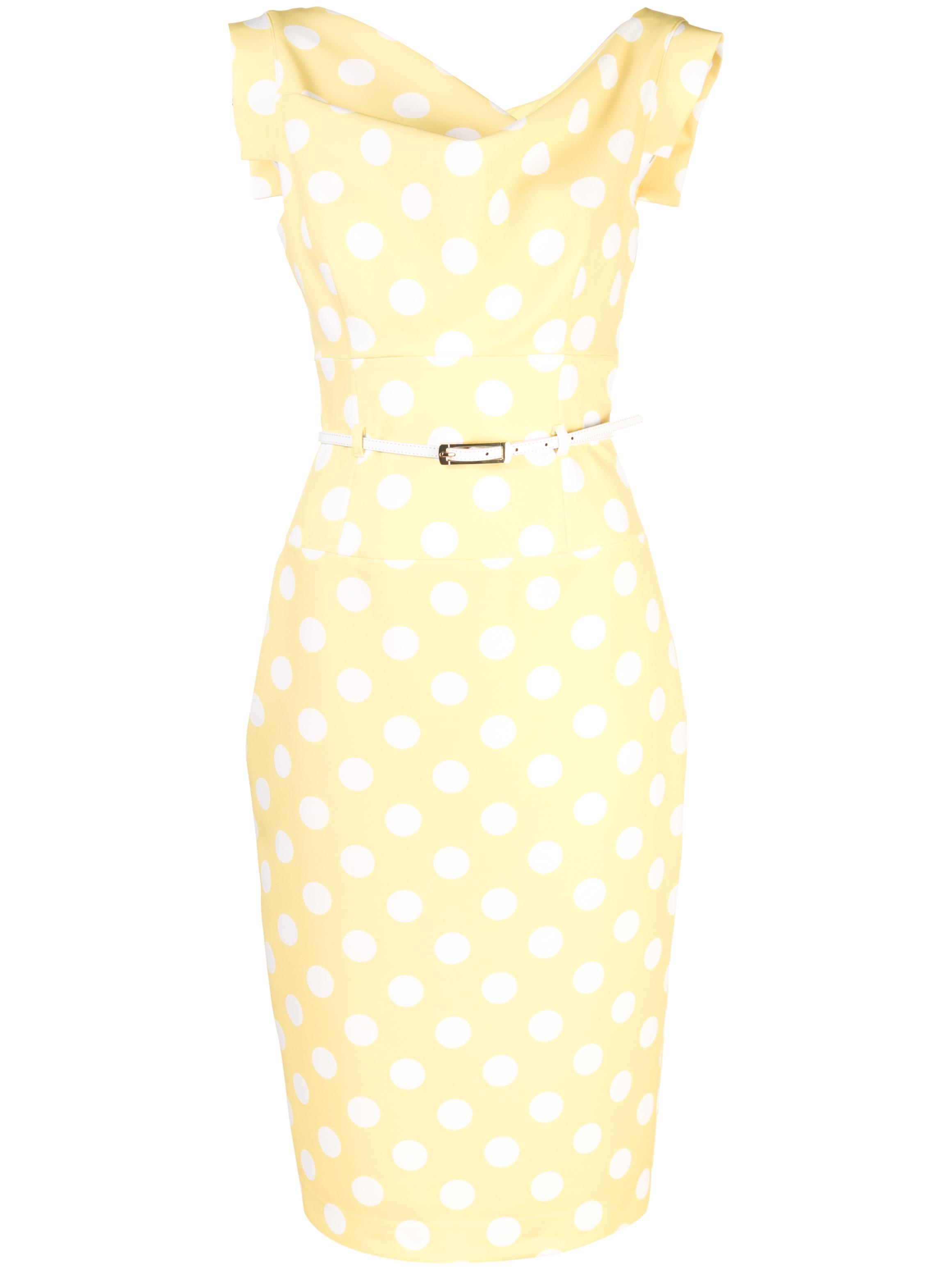 Jackie O Dress Polka Dot