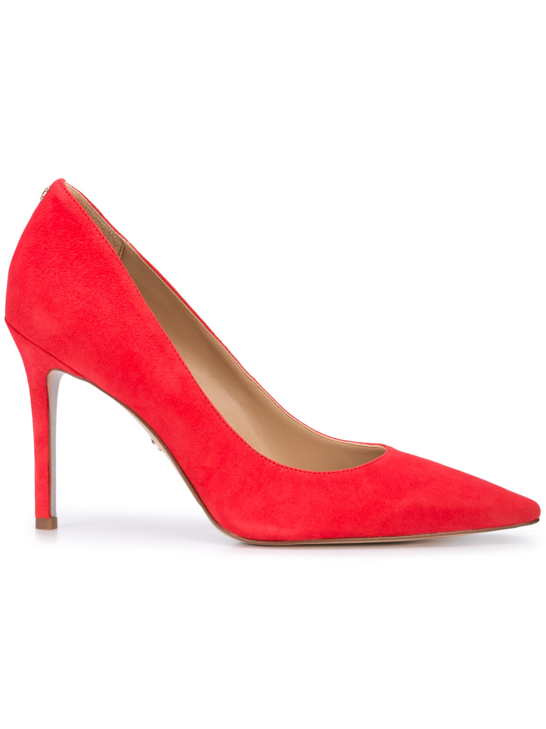 Point Toe Kid Suede Pump