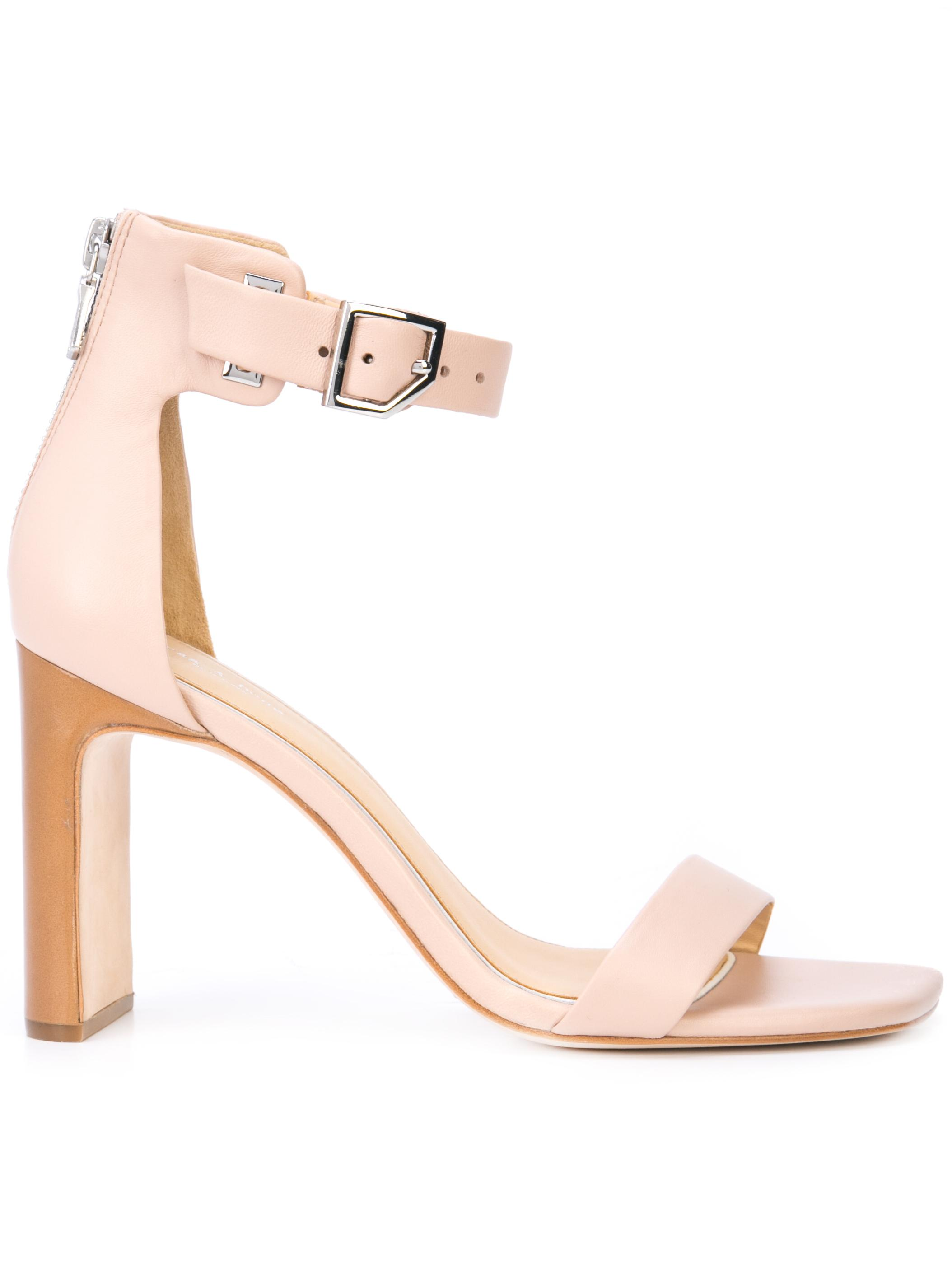 ELLIS HiHl Sandal w/Zip Back