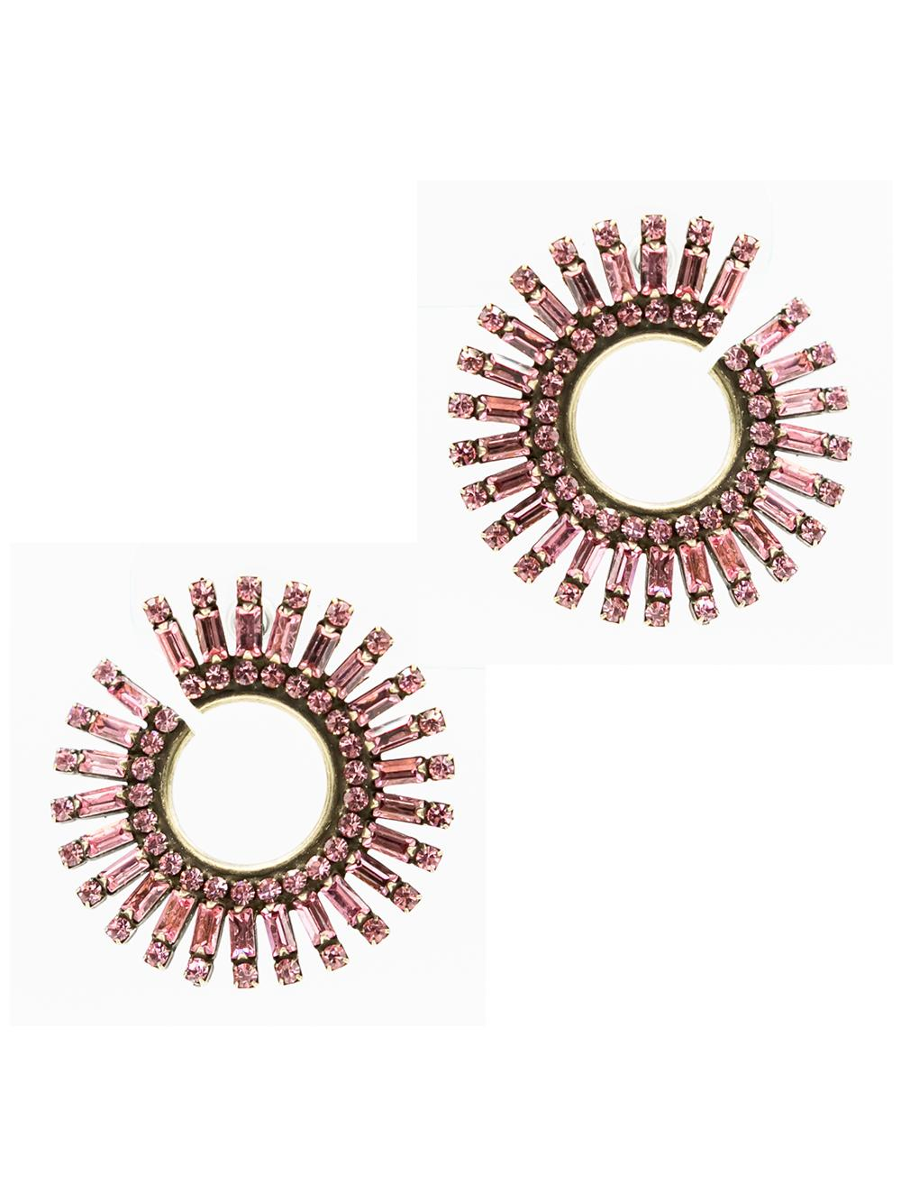 Pink Valeria Earrings Item # E737C