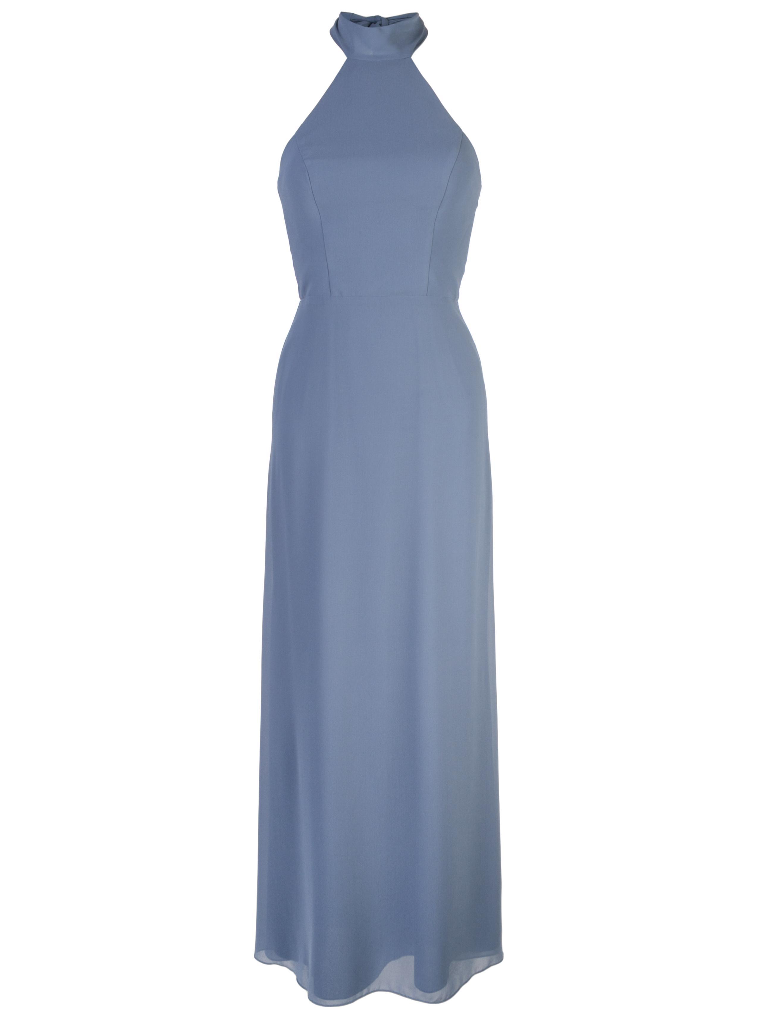 Sophia Halter Chiffon Gown Item # GB070F
