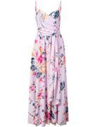 Azalea Vneck Printed Maxi Dress