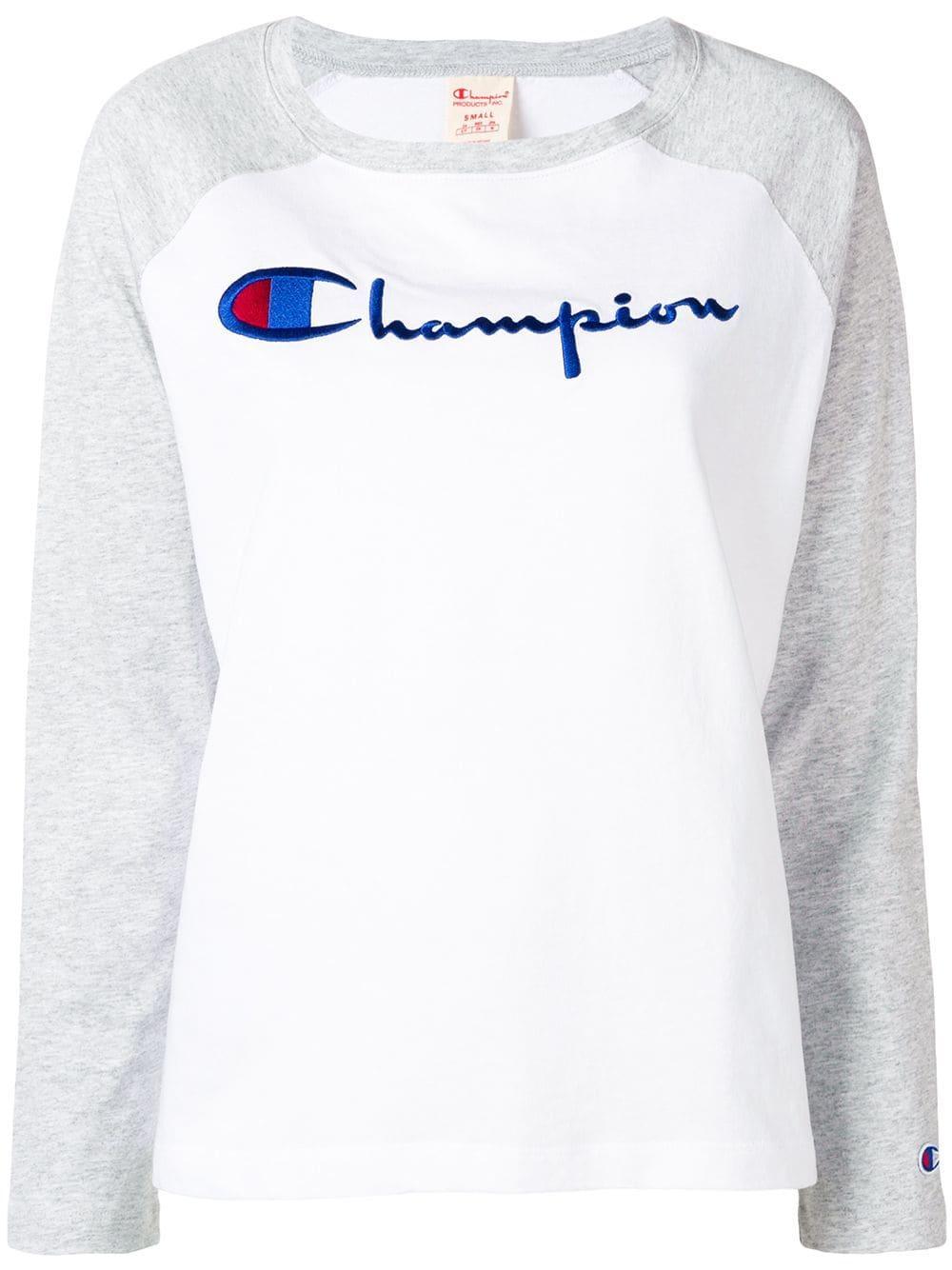 Long Sleeve Cropped Crewneck Tshirt