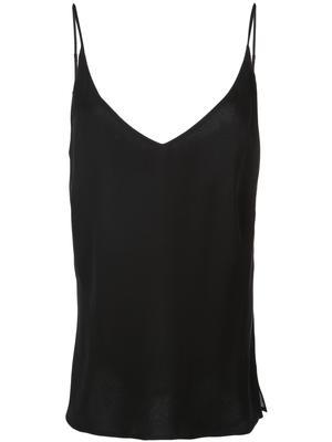Gabriella V-neck Silk Tank