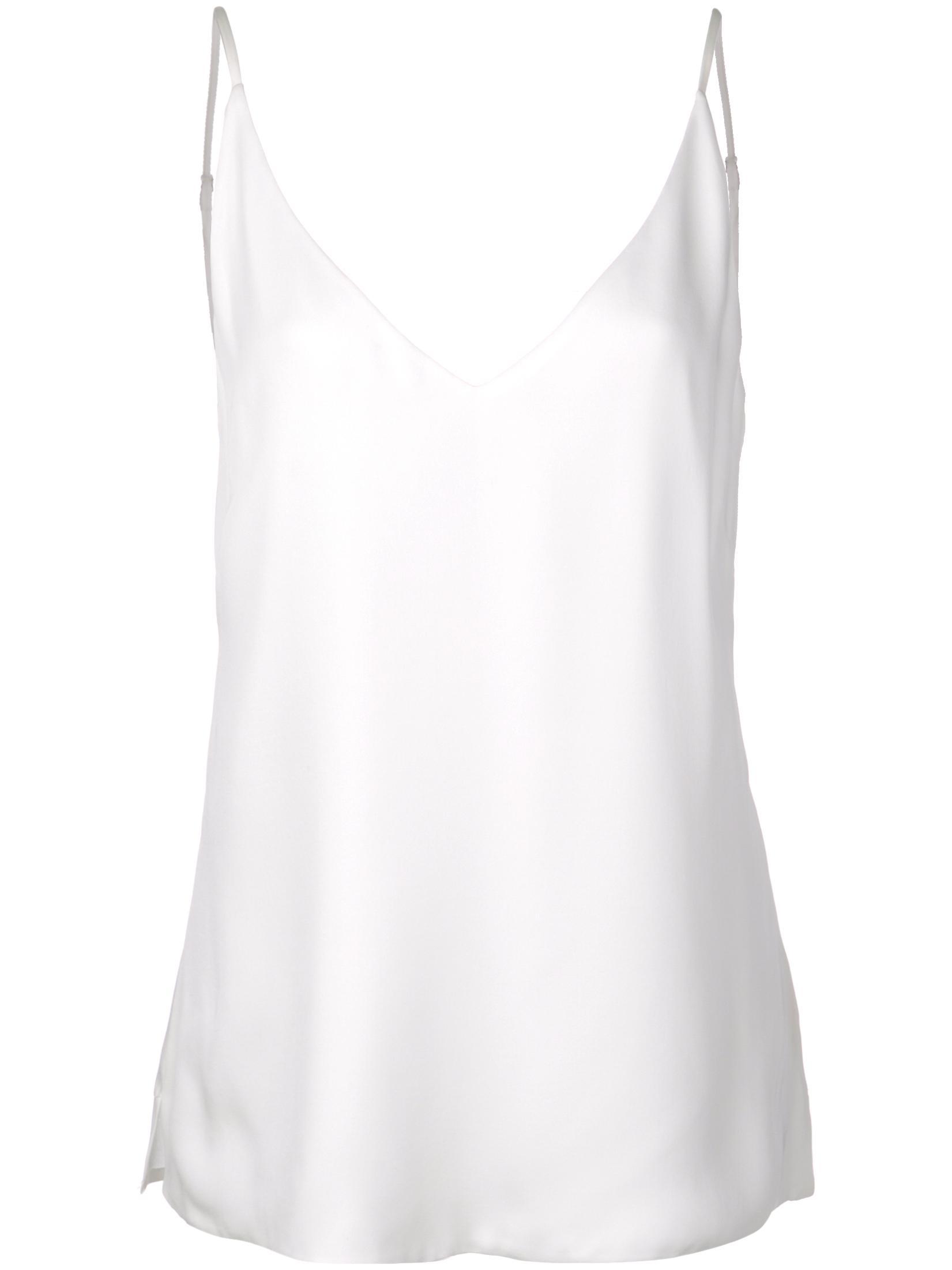 Gabriella V- Neck Silk Tank Item # 4975GG
