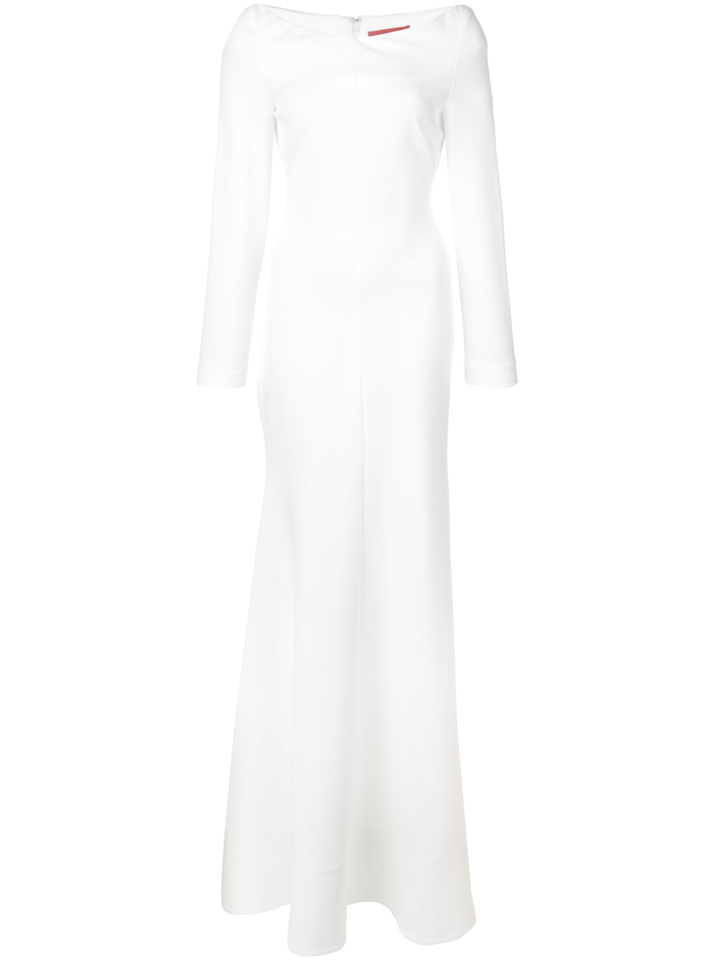 PERRINE OFF THE SHOULDER LS GOWN