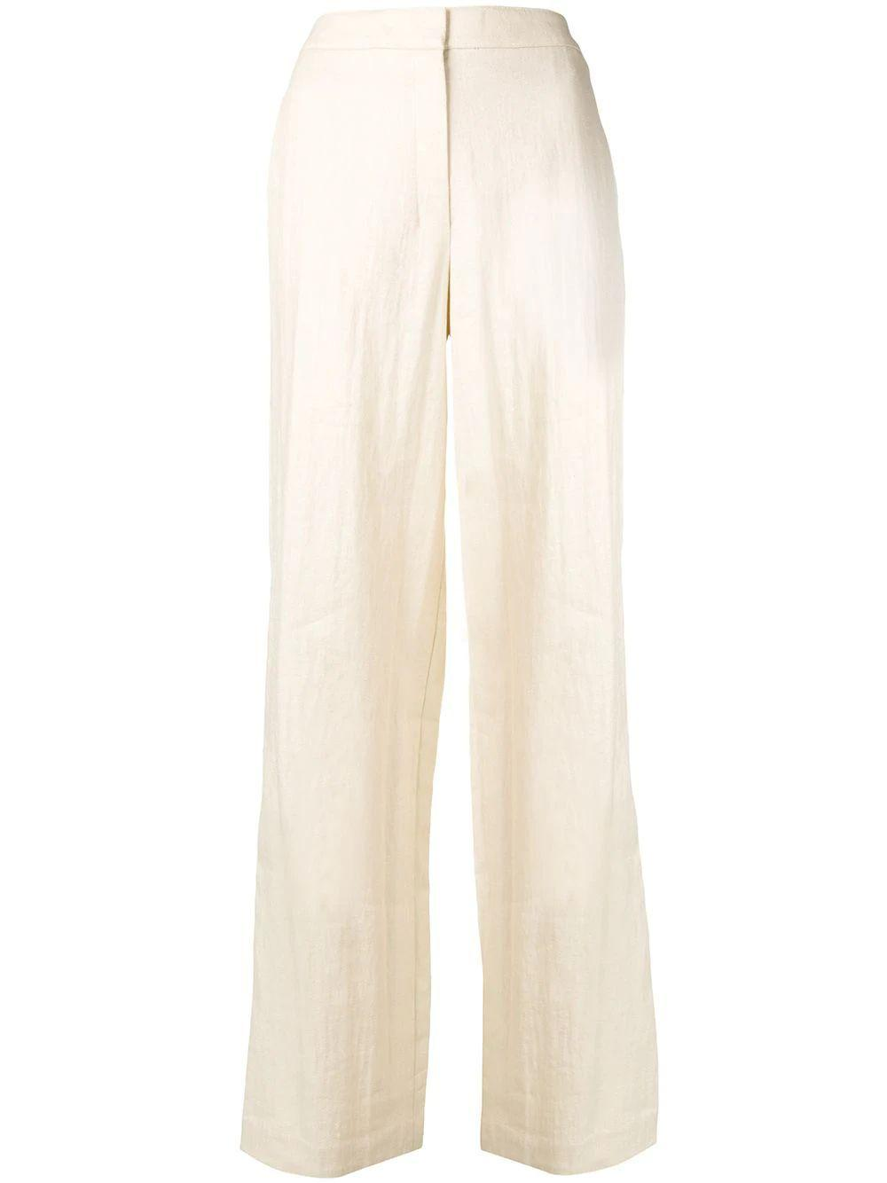 Clean Trouser Luxe Linen Item # J0307204