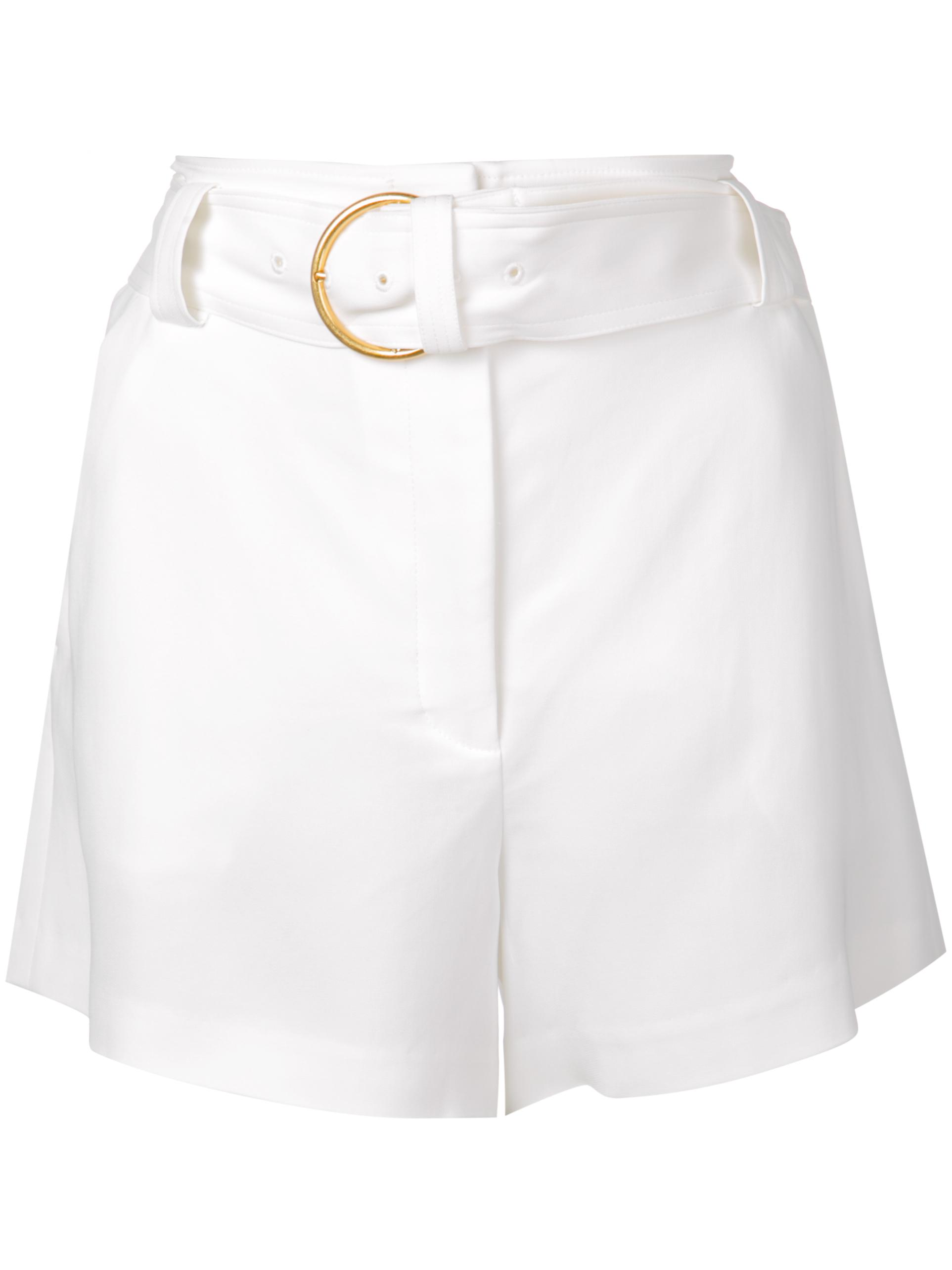 Clive O-Ring Belt High Waist Short