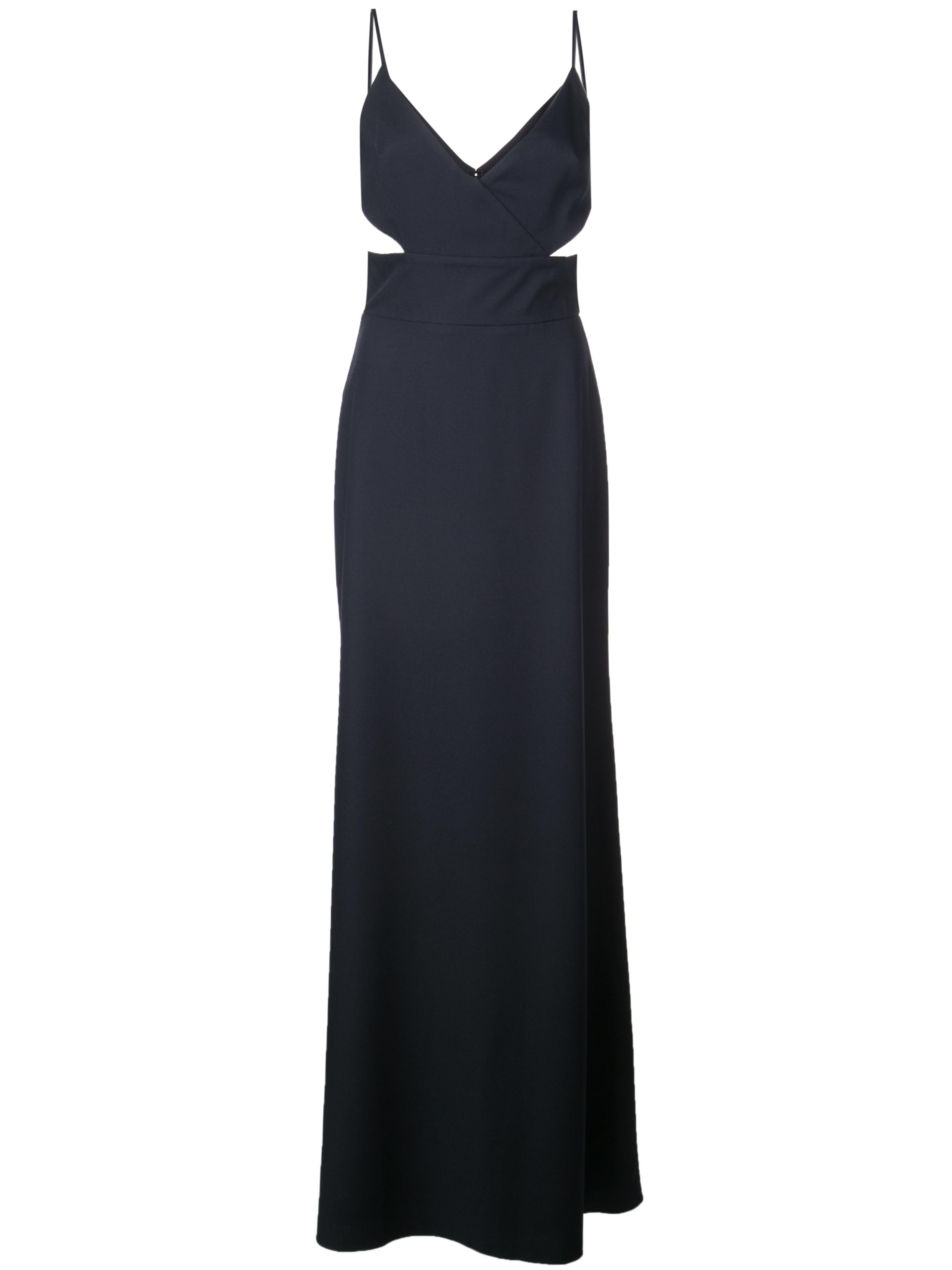 Shiloh Crepe Gown With Cutout