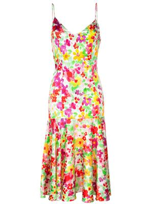Kai Midi Floral Slip Dress