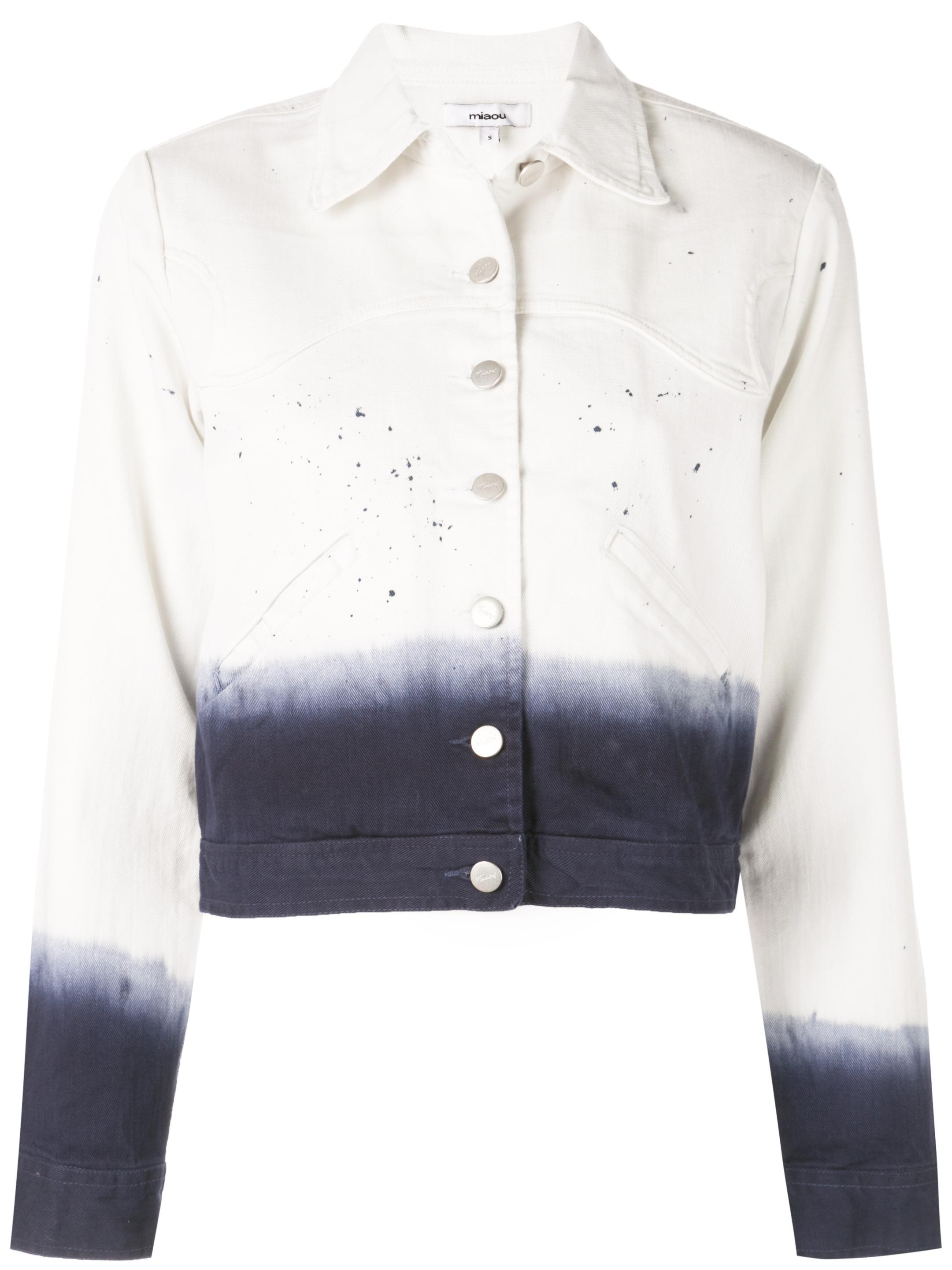 Lex Denim Dip Dye Jacket