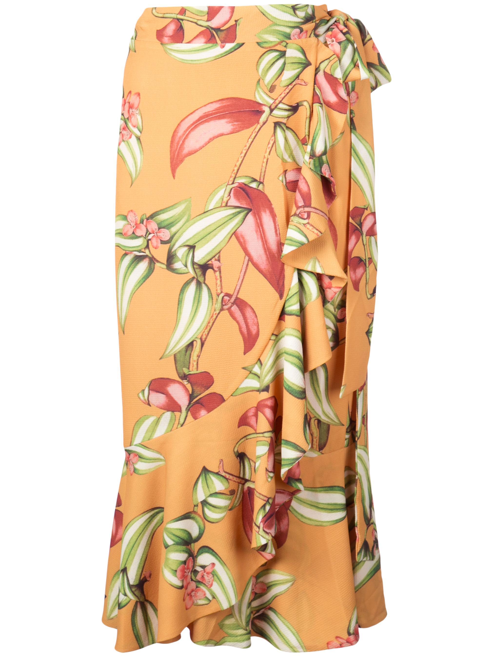 Zebrina Print Wrap Skirt