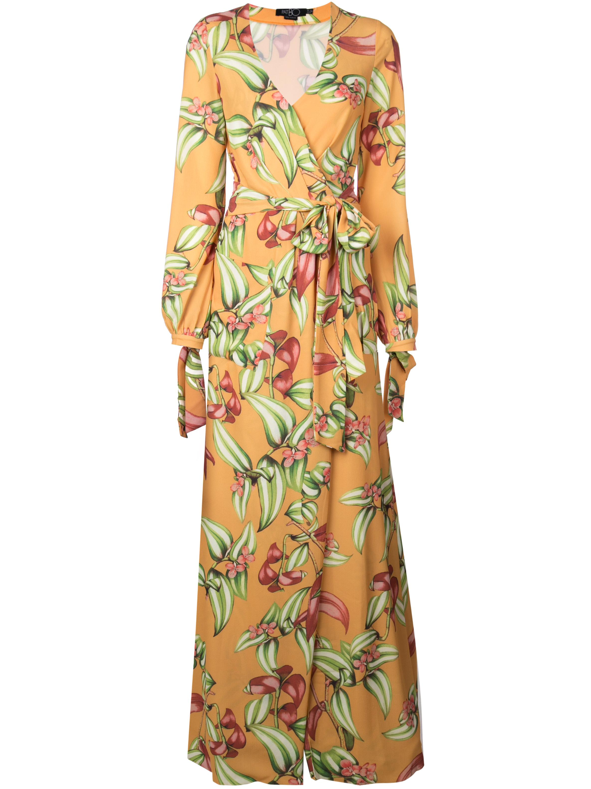 Zebrina Print Maxi Wrap Dress