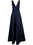 Olga Bow Back Clean Front Gown