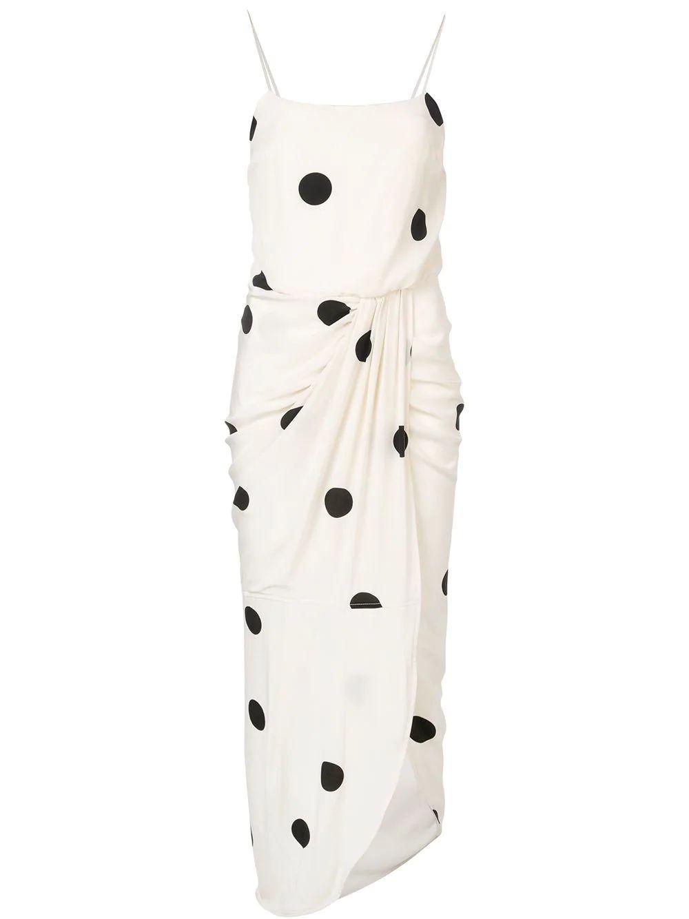 Cami Dress With Sarong Skirt Item # TS92531PD-C