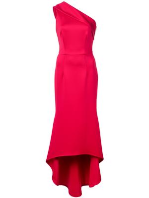 One Shoulder High-Low Gown