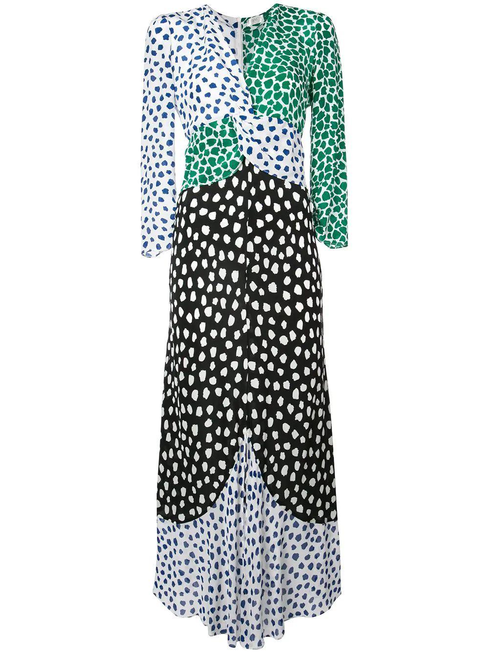 Chelsea Mix Print Georgette Item # RIX10_238_SS19_356
