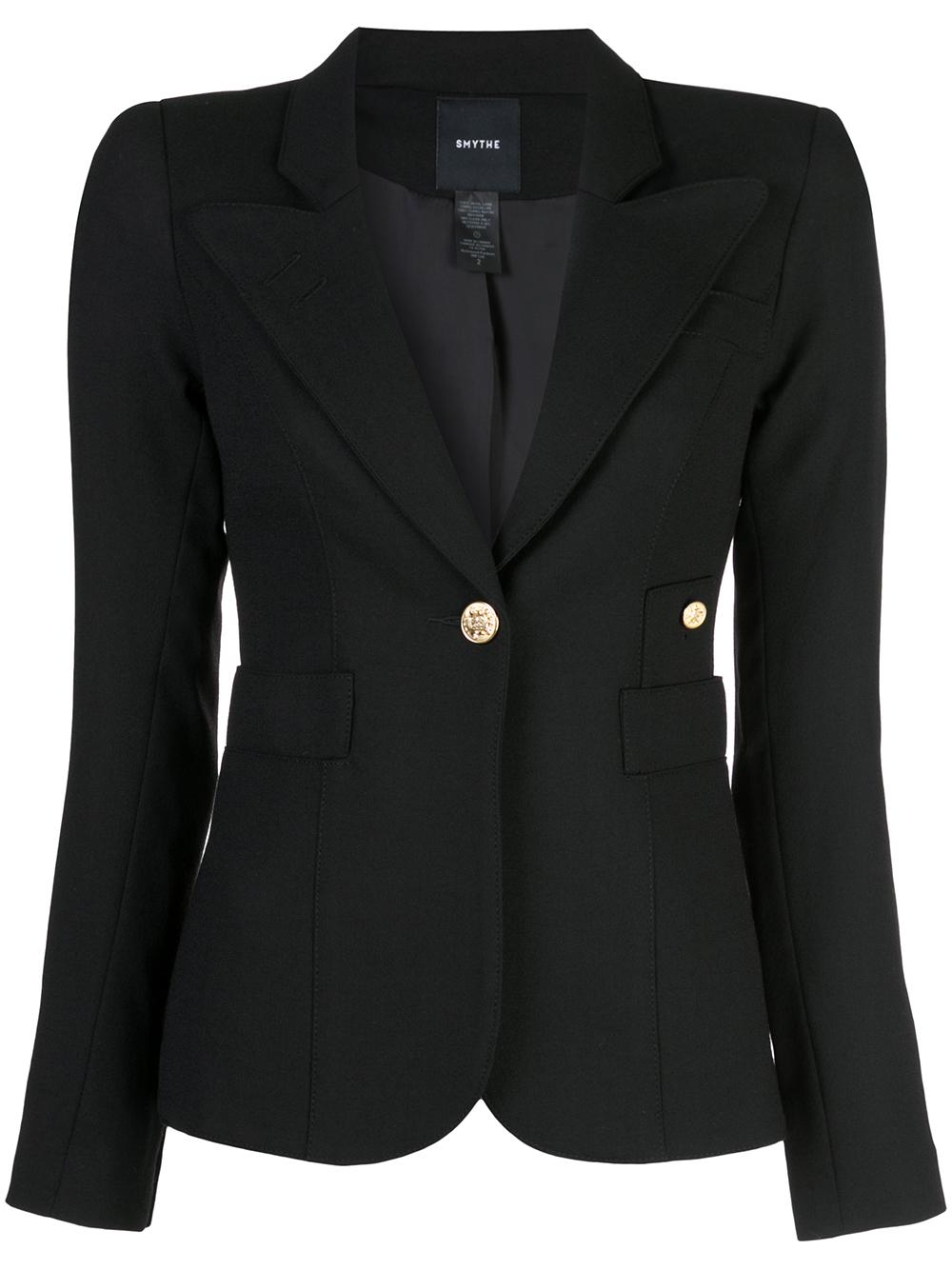 Duchess Classic Single Button Blazer