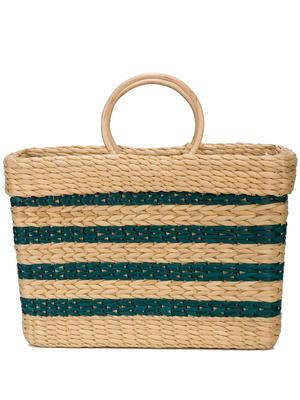 Structured East West Tote