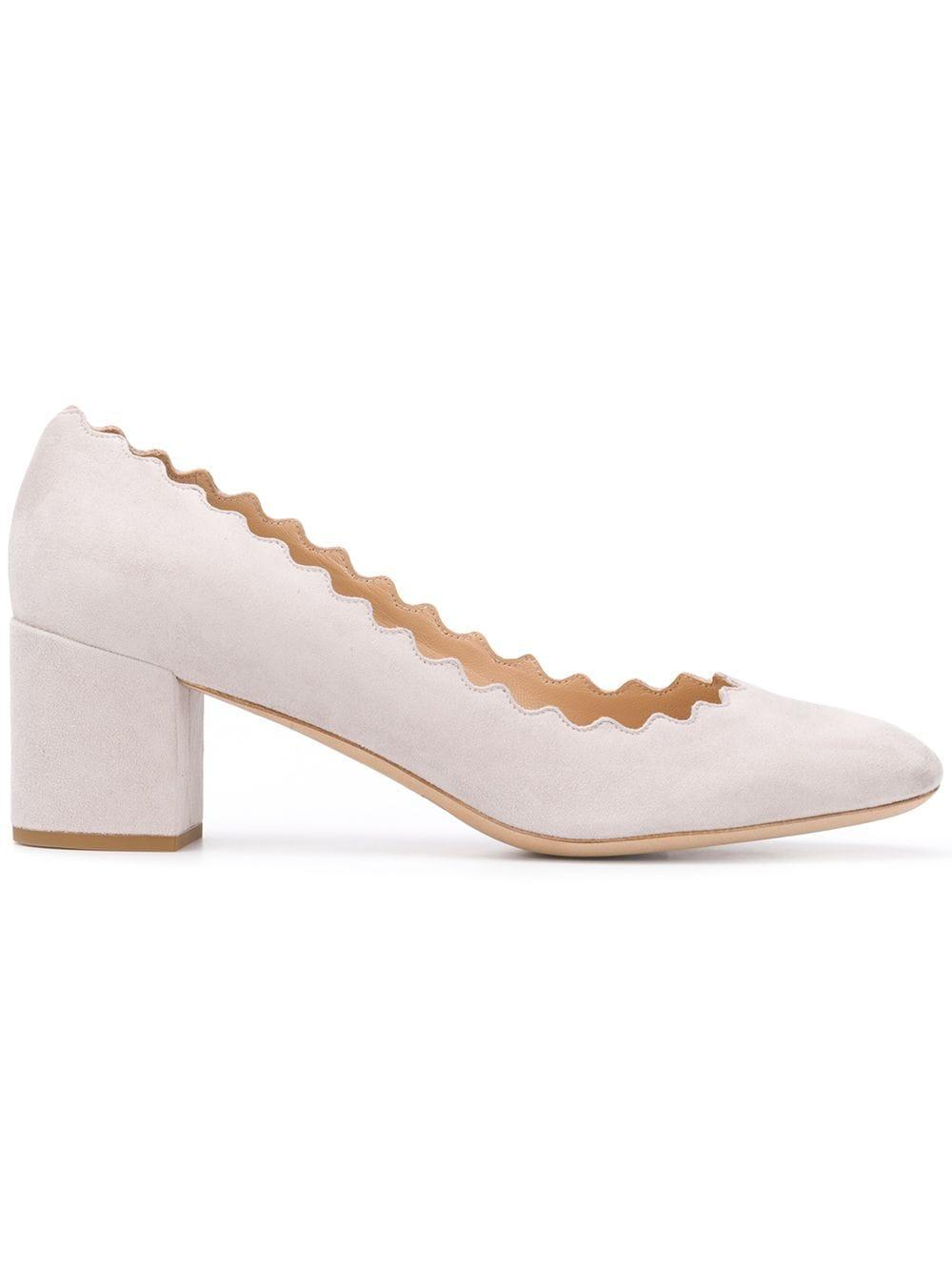 Lauren Scalloped 50mm Pump