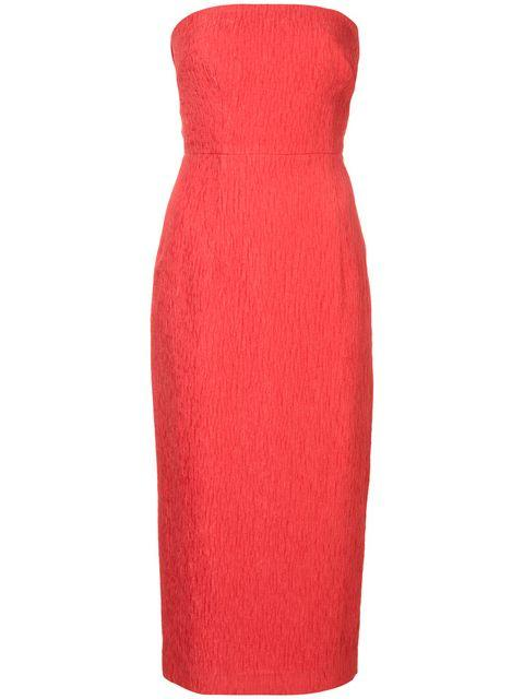 Francesca Tie Midi Dress