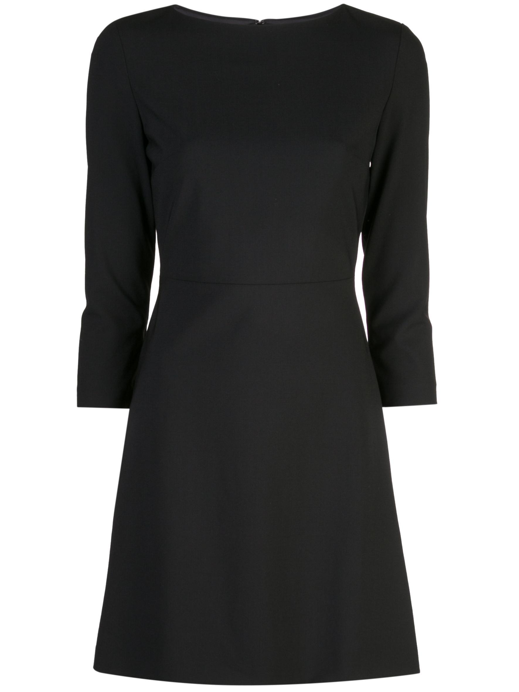 Kamillina Sleek 3/4 Sleeve A-Line Dress