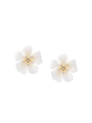 Malia Large Flower Stud With Crystals