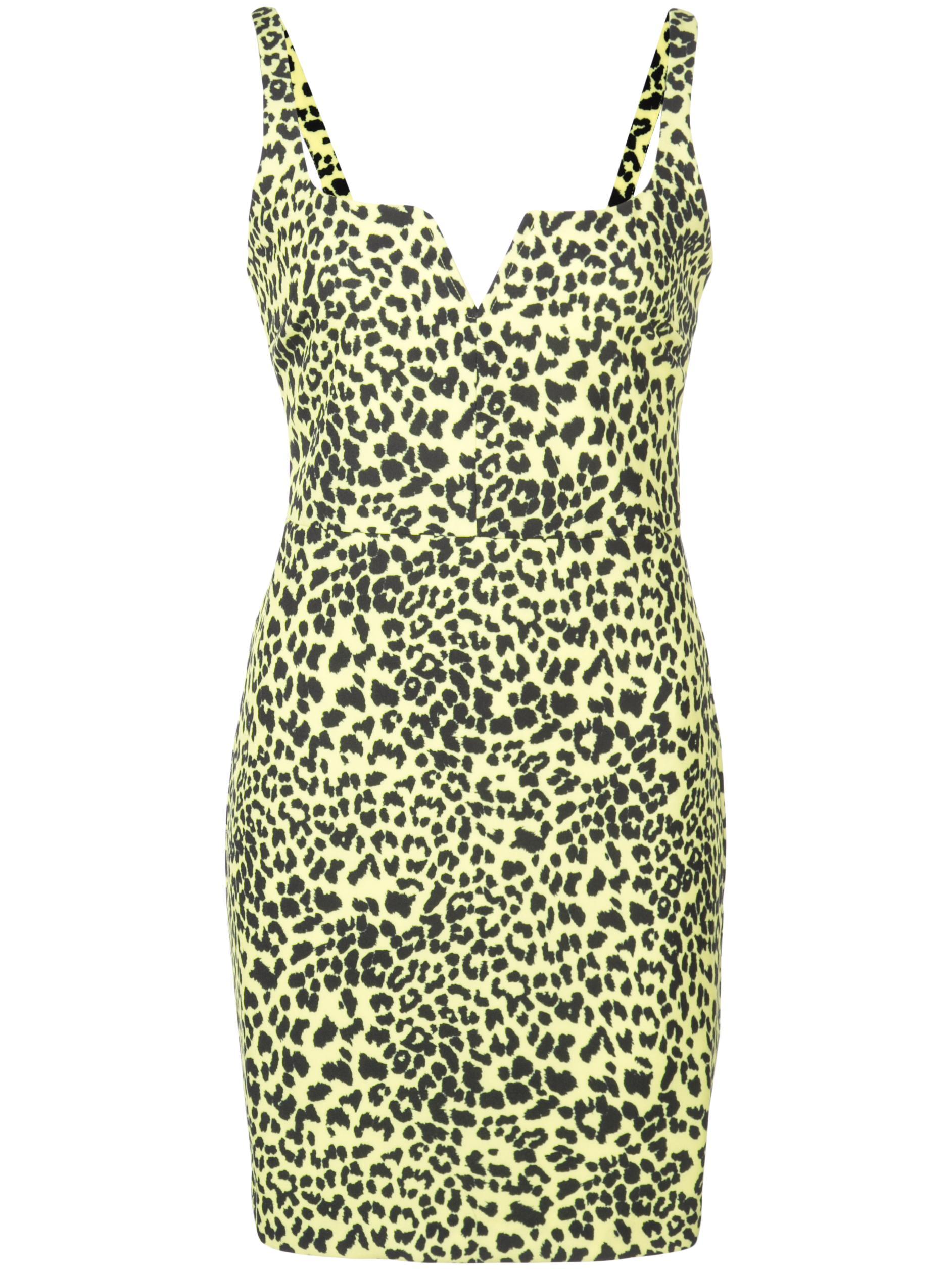 Neon Leopard Constance Dress