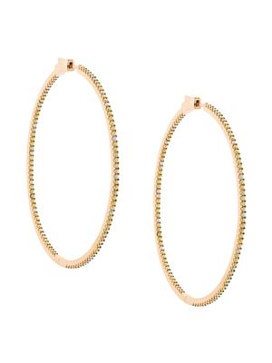 Evie Slim Hoop 14k Rose Gold Earring