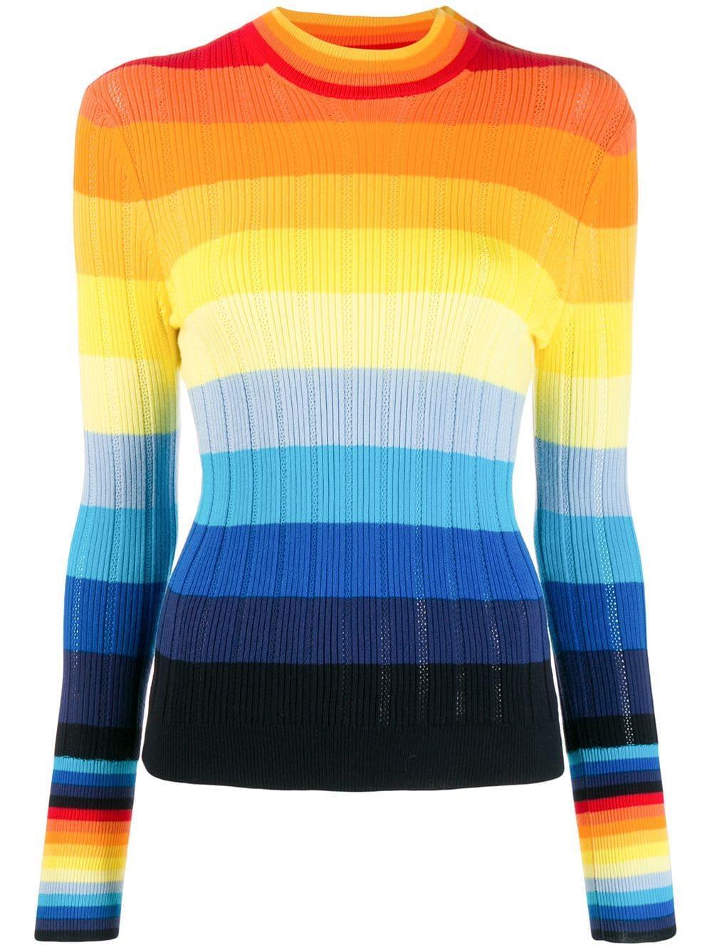 Sunset Pointelle Sweater