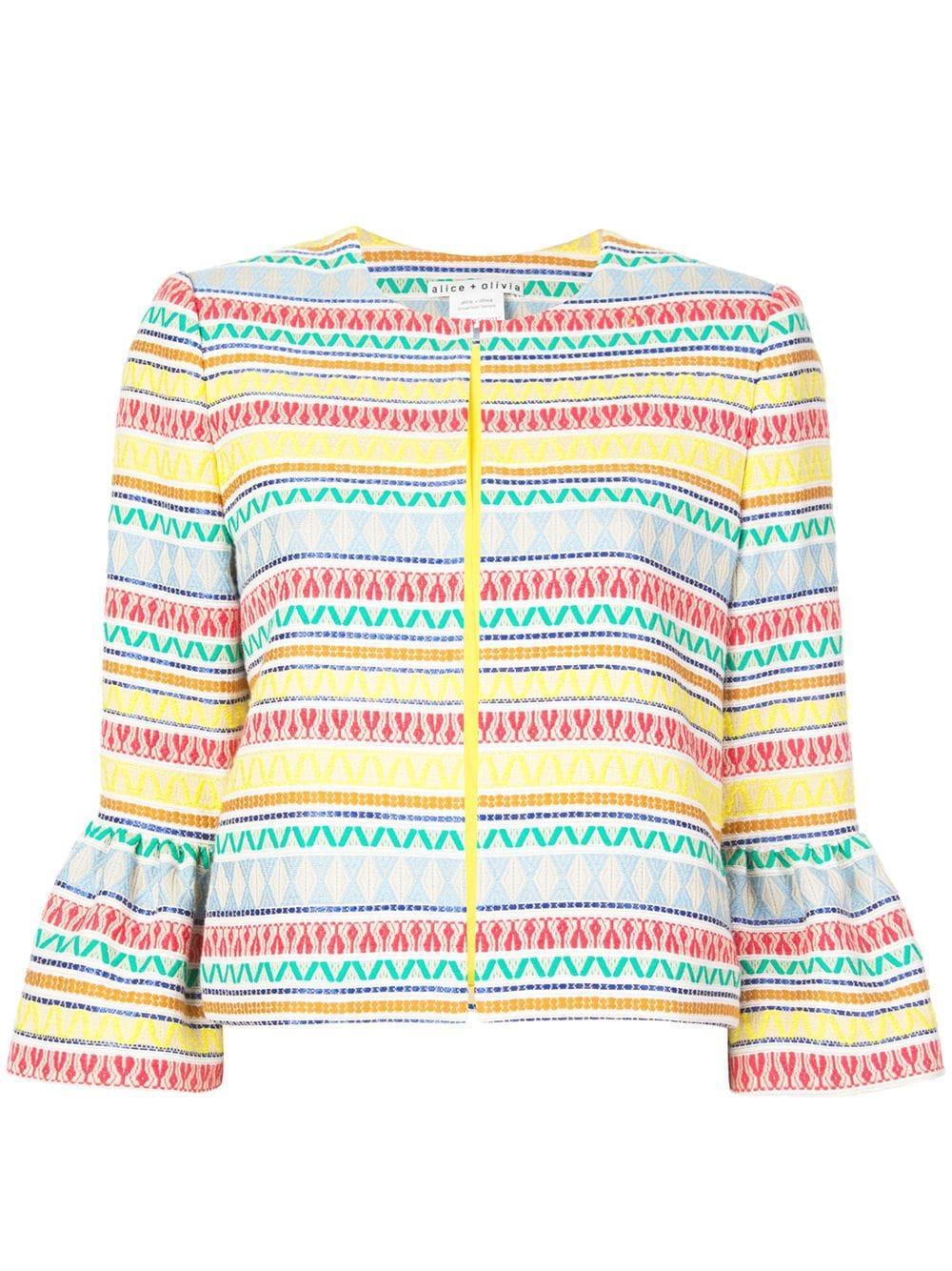 Kidman Ruffle Sleeve Jacket Item # CC905Q28207