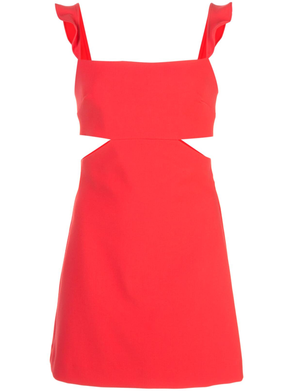 Stella Ruffle Sleeve Cutout Dress Item # YD938001LYB