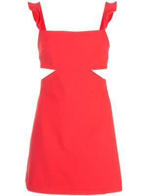Stella Ruffle Sleeve Cutout Dress