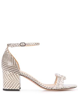 Malica 60mm Block Sandal With Ankle Strap