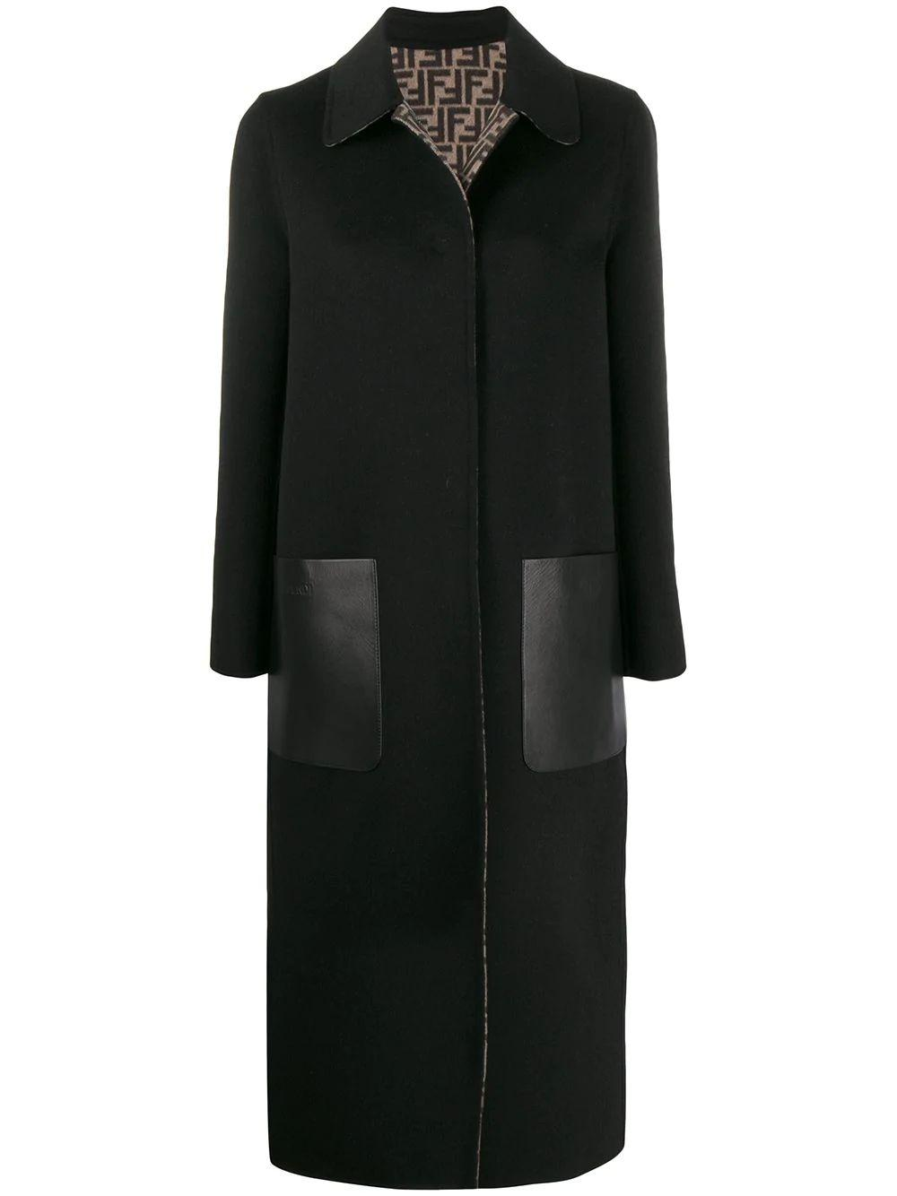 Reversible Logo Long Coat