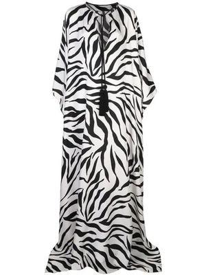 Zebra Print Caftan
