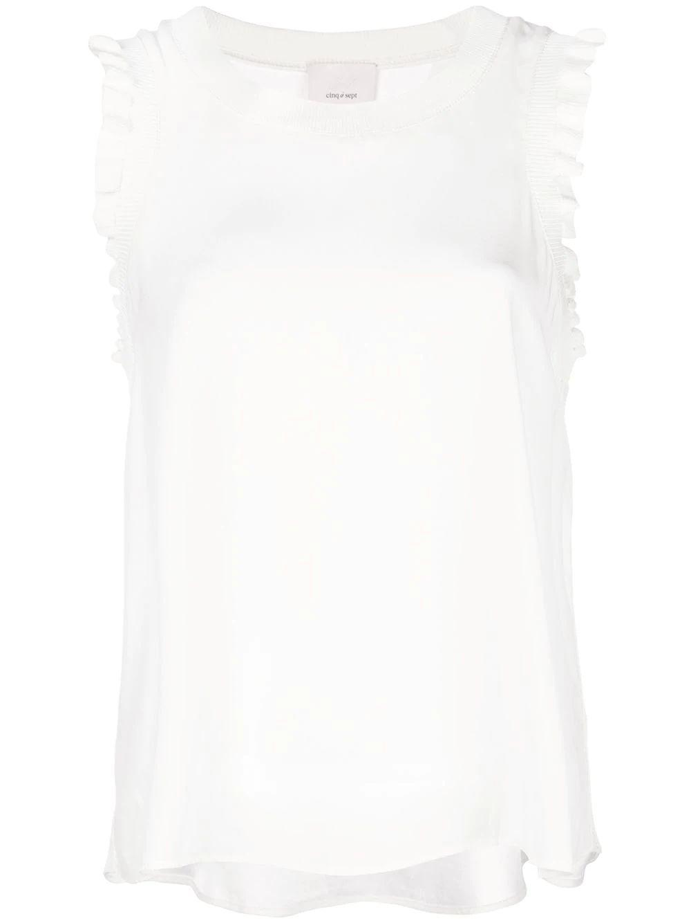 Lenore Sleeveless Ruffle Sleeve Top Item # ZK3561468Z-PF19