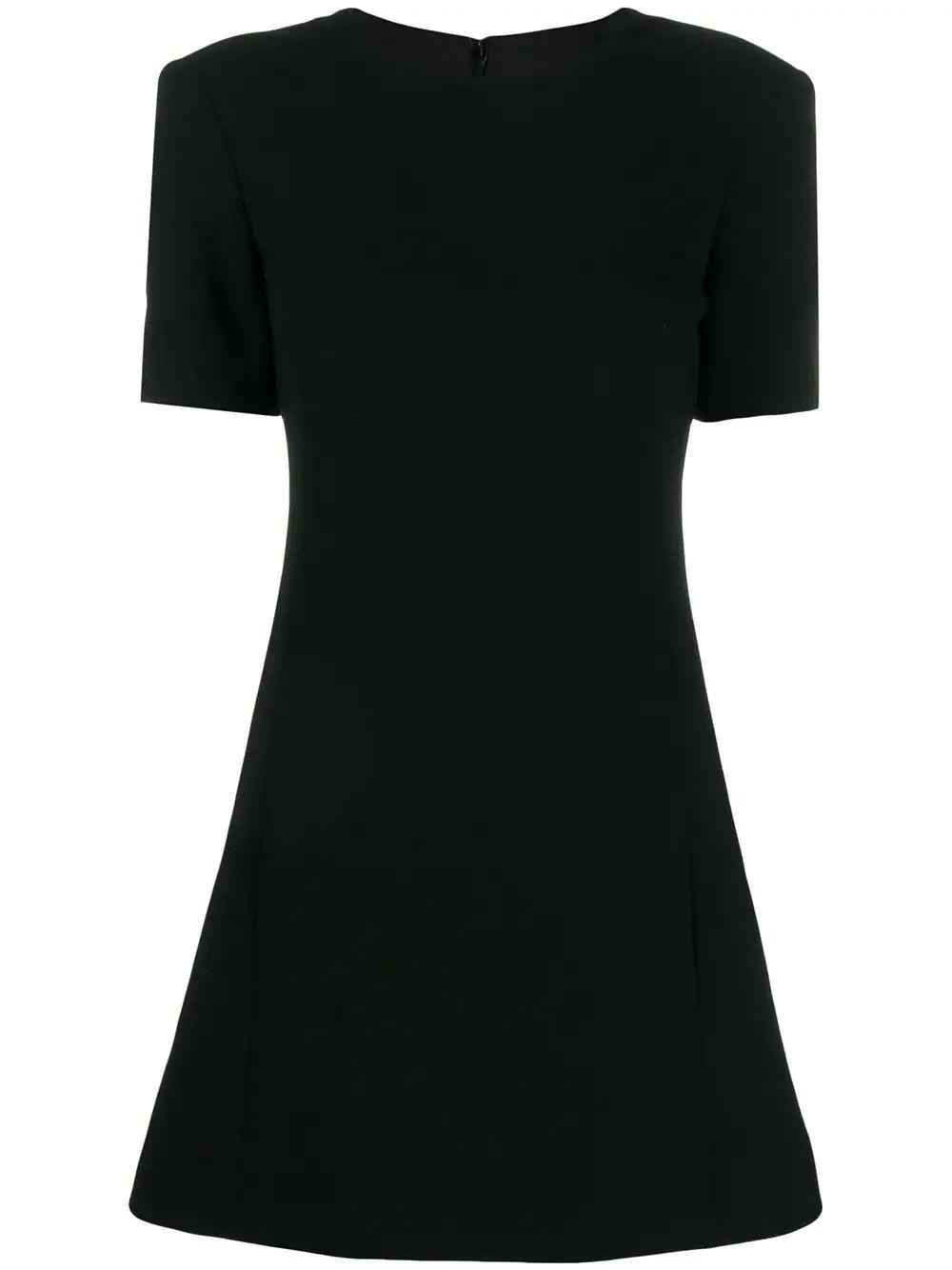 Short Sleeves Dress With Pockets