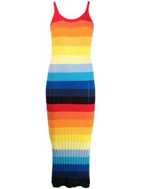 Sunset Pointelle Dress