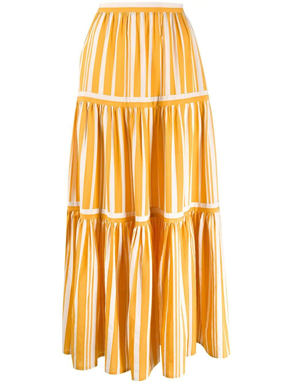 Parasol Striped Skirt Item # SP02