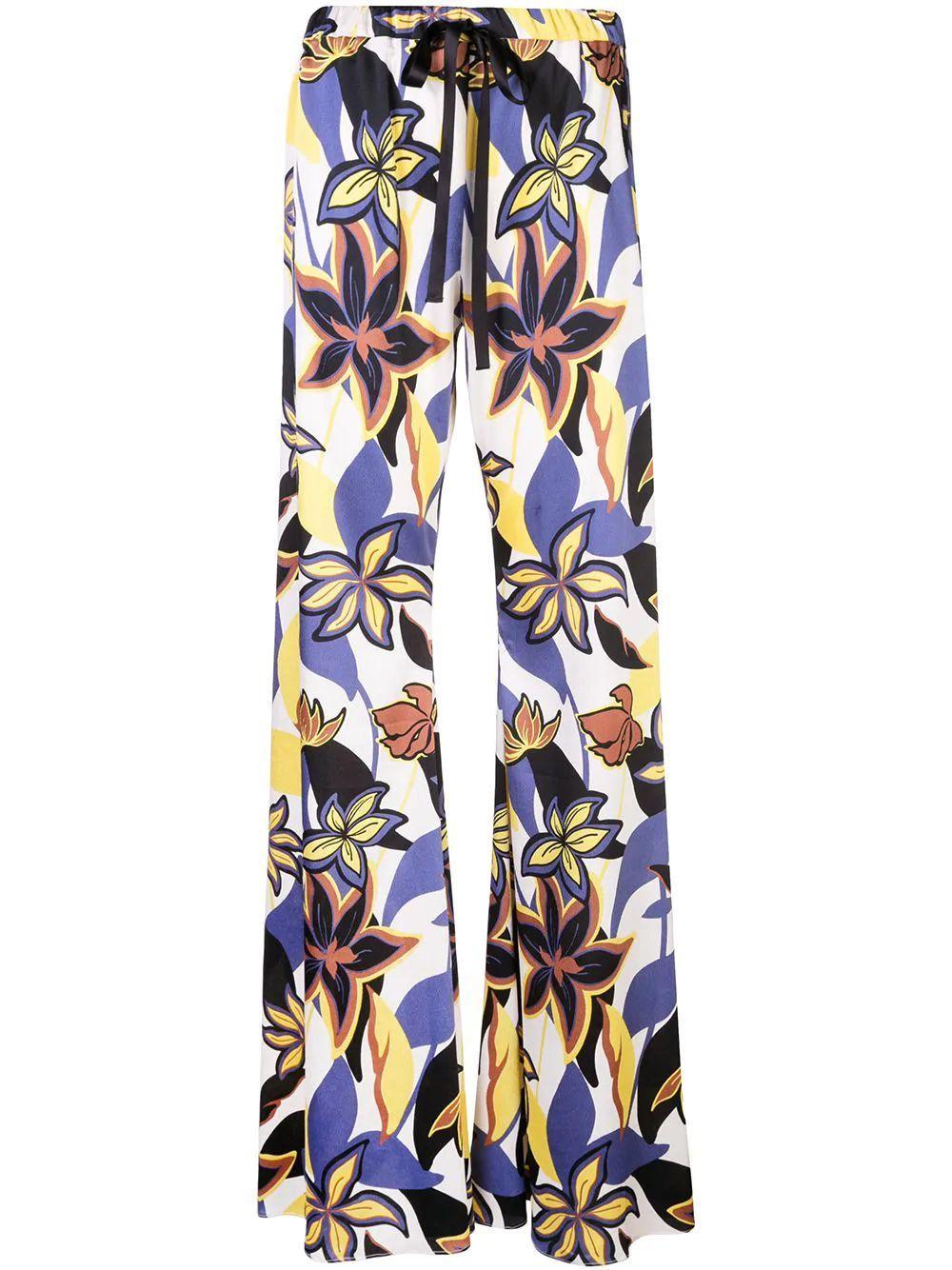 Zeva Floral Wide Leg Pant