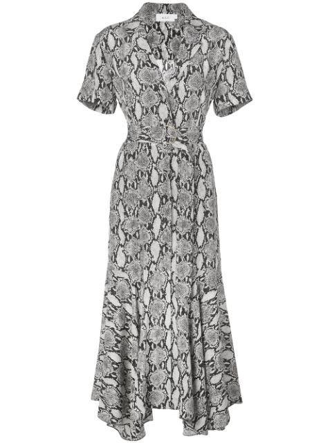 Clarkson Snake Print Maxi Dress