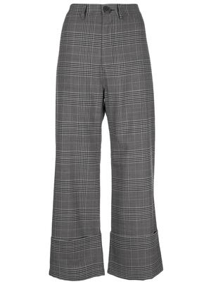 Rowan Plaid Cuff Pant