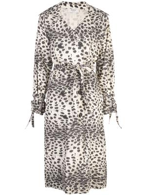 Leo Leopard Trench