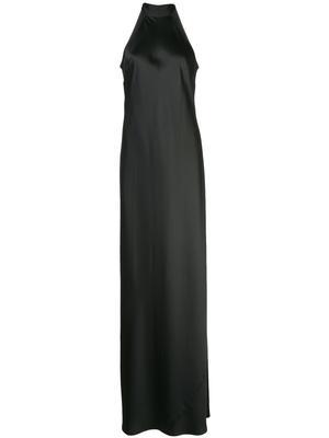 Mock-Neck Brisco Gown