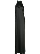 Mock- Neck Brisco Gown