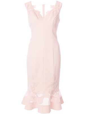 Cap Sleeve Short Dress