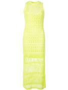 Monagahan Crochet Fitted Maxi Dress