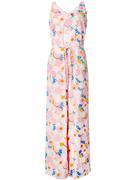 Mint Floral Printed Jumpsuit